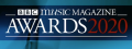 BBC Music Magazine 2020 Award Winner