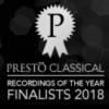 Presto Recording of the Year Finalist 2018