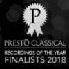 Presto Recording of the Year 2018