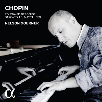 Chopin: Polonaise, Berceuse, Barcarolle & 24 preludes
