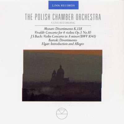 Live: Mozart, Vivaldi, Bach, Bartok and Elgar