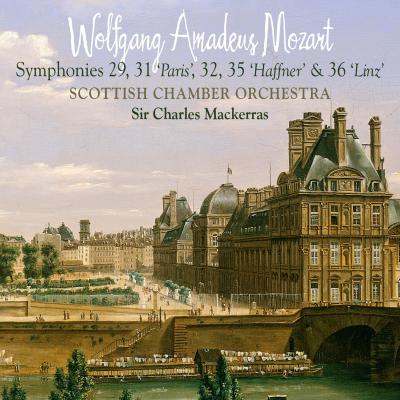 Mozart: Symphonies 29, 31 (Paris), 32, 35 (Haffner) & 36 (Linz)