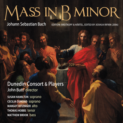 J.S. Bach: Mass in B minor - Breitkopf & Härtel Edition, edited by J. Rifkin (2006)