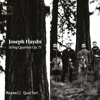 Haydn: Strings Quartets Op. 71 sleeve